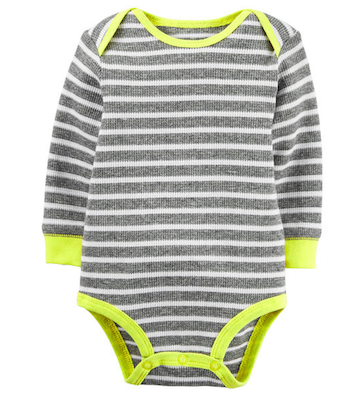 Striped Thermal Bodysuit