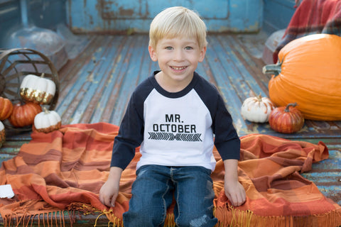 Mr. October Raglan