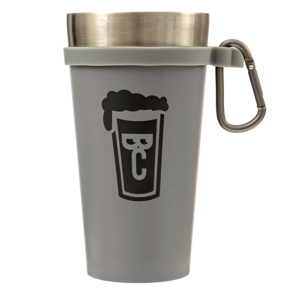 'The Whole Pint' by Beer Choir: Stainless Steel, Double Wall, Vacuum Insulated Cup. Stays cold longer than a glass pint. Perfect for beer, mixed drinks, milkshakes. Indoor, outdoor, & travel.