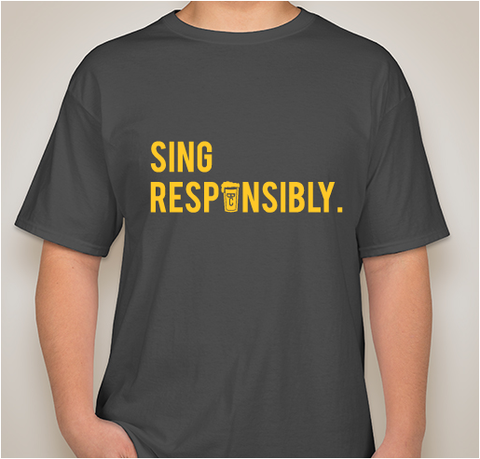 Men's 'Sing Responsibly' T-Shirt