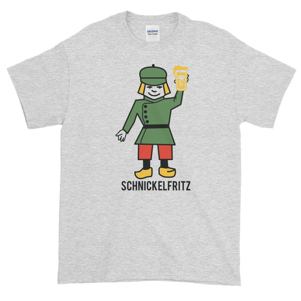 SCHNICKELFRITZ Men's 2XL-5XL Short-Sleeve T-Shirt