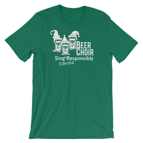 Sing CAROLS Responsibly - Short-Sleeve Unisex T-Shirt