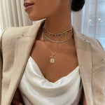 Classic Diamond Tennis Necklace