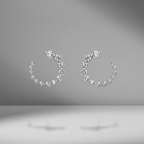 Small Garland Earrings by Anita Ko