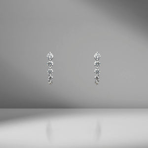 Diamond Cascade Earrings