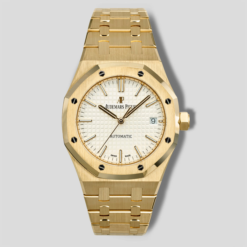 Yellow gold Royal Oak 15450BA.OO.1256BA.01