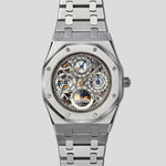 Royal Oak Perpetual Calendar skeletonized dial 25636ST.OO.0944ST.02