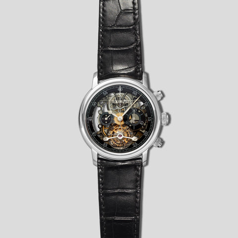 Jules Audemars Tourbillon Chronograph Openworked 26346BC.OO.D002CR.02
