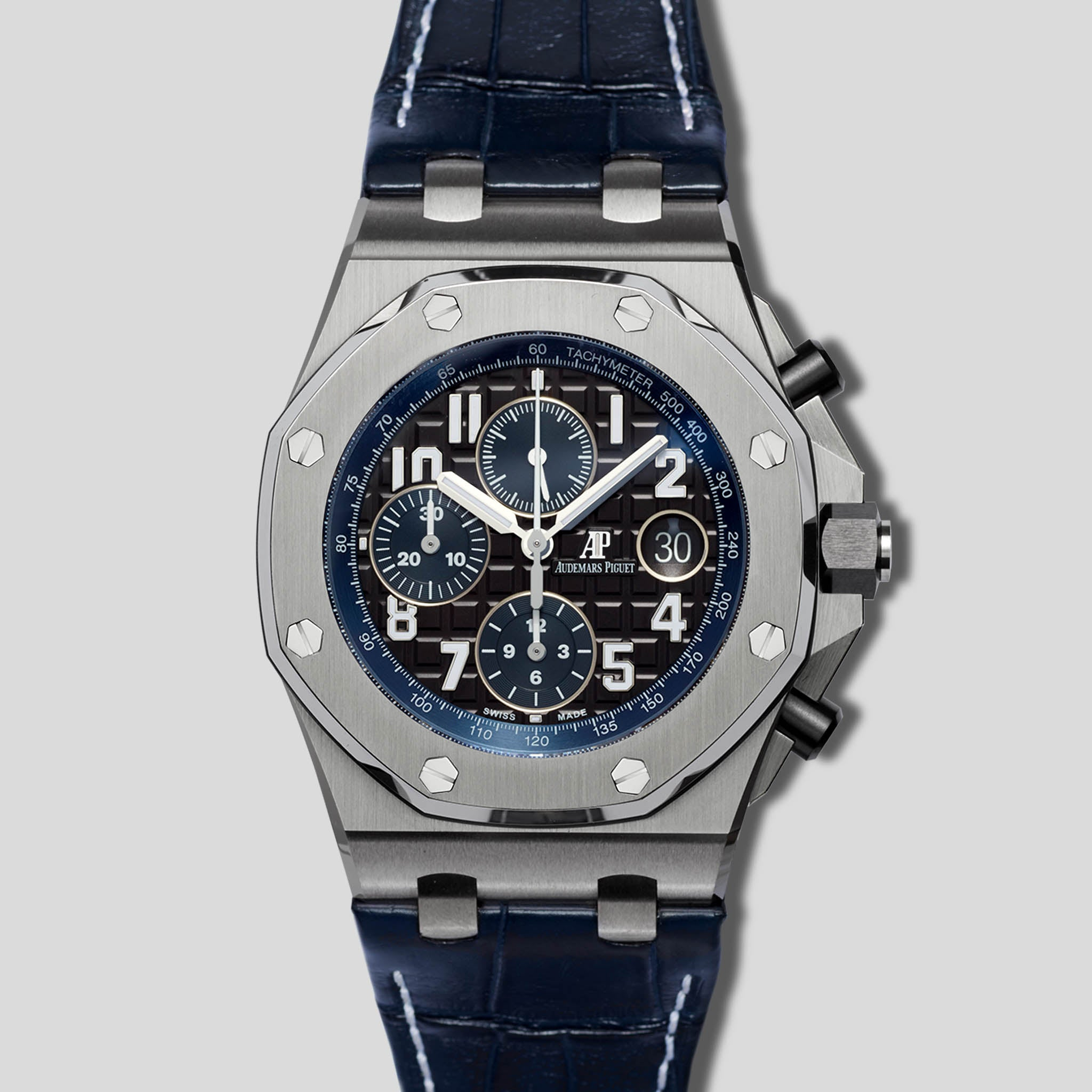 ce20bb6dfdf2 Royal Oak Offshore Chronograph 26470ST.OO.A028CR.01 – Material Good