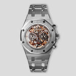 Royal Oak Tourbillon Chronograph Openworked 26347TI.OO.1205TI.01
