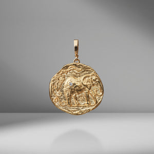 Limited Edition Elefante Large Diamond Coin Charm