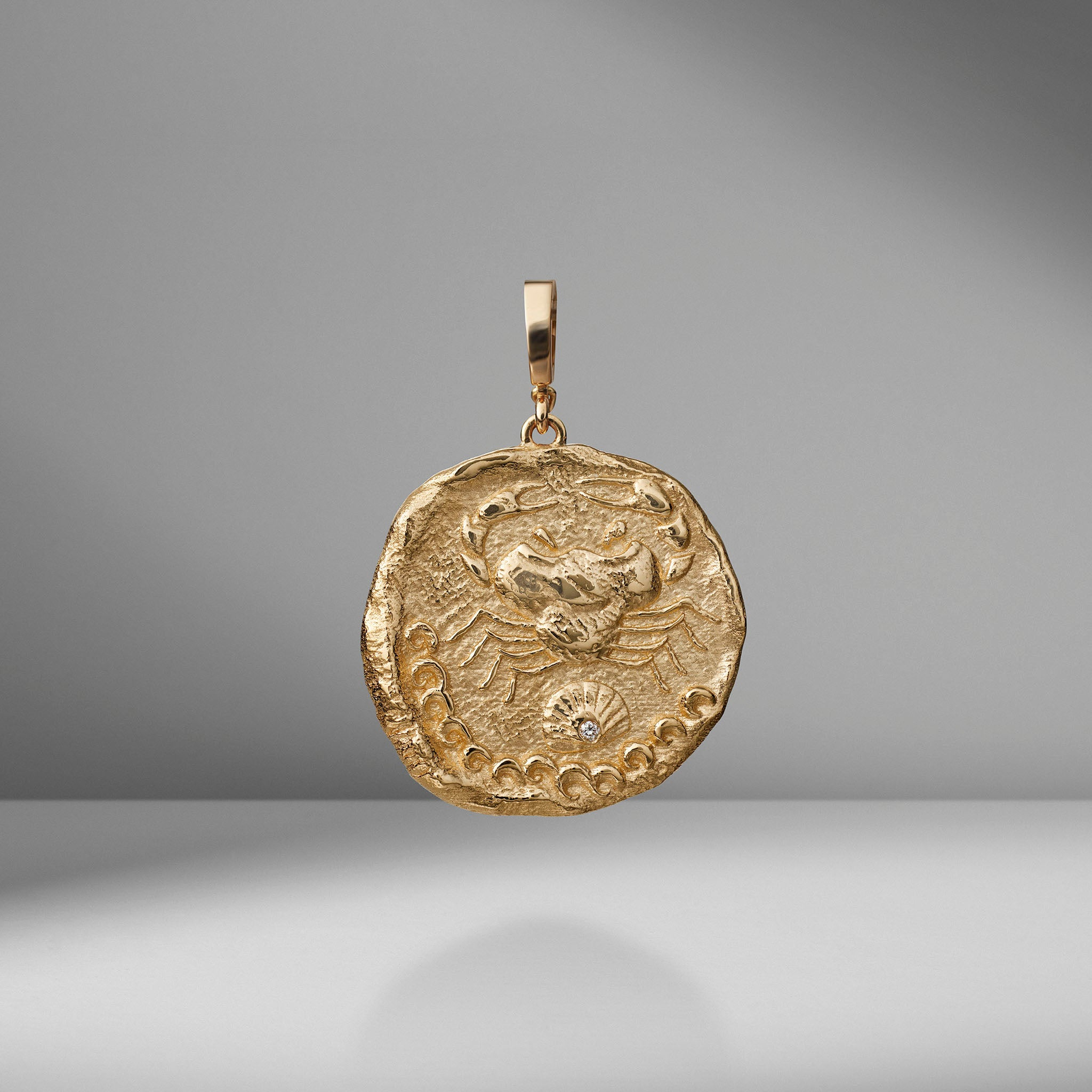 Limited Edition Karkinos Large Diamond Coin Charm