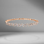 Multi-Shape Diamond Bangle