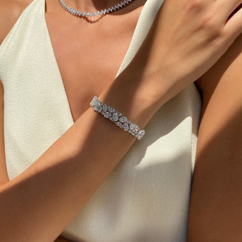Fancy Shape Diamond Bracelet