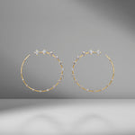 Circle Large Earrings