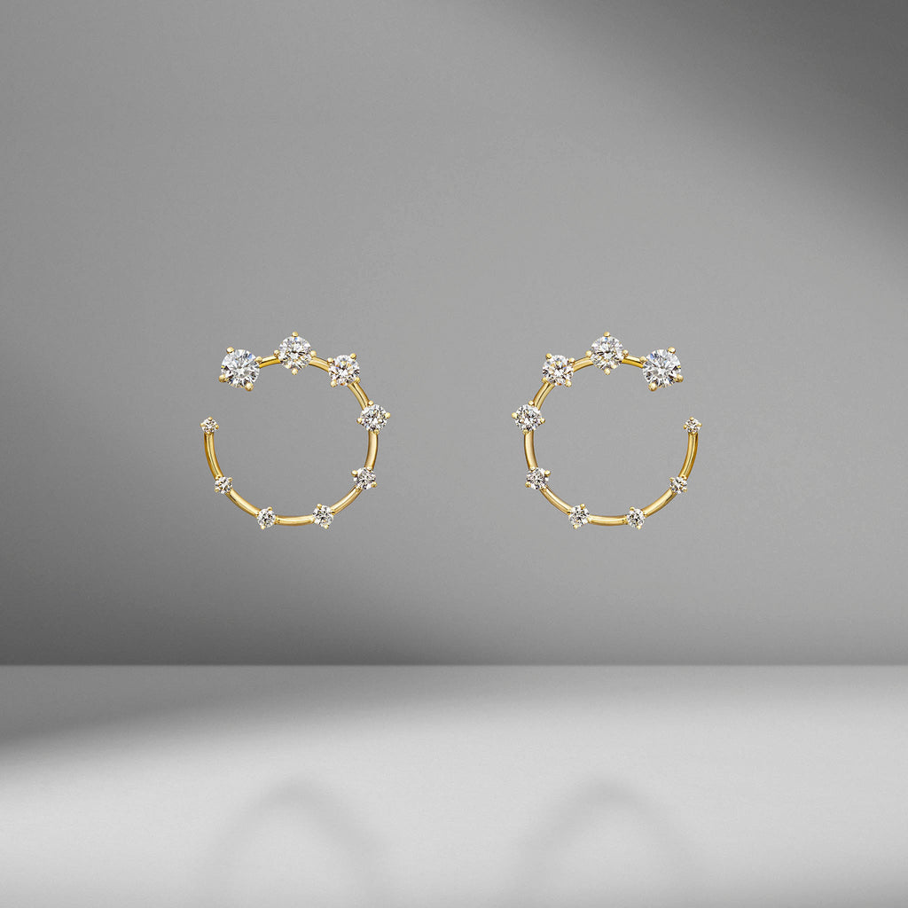 Circle Small Earrings
