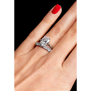 Oval Cut Solitaire Engagement Ring