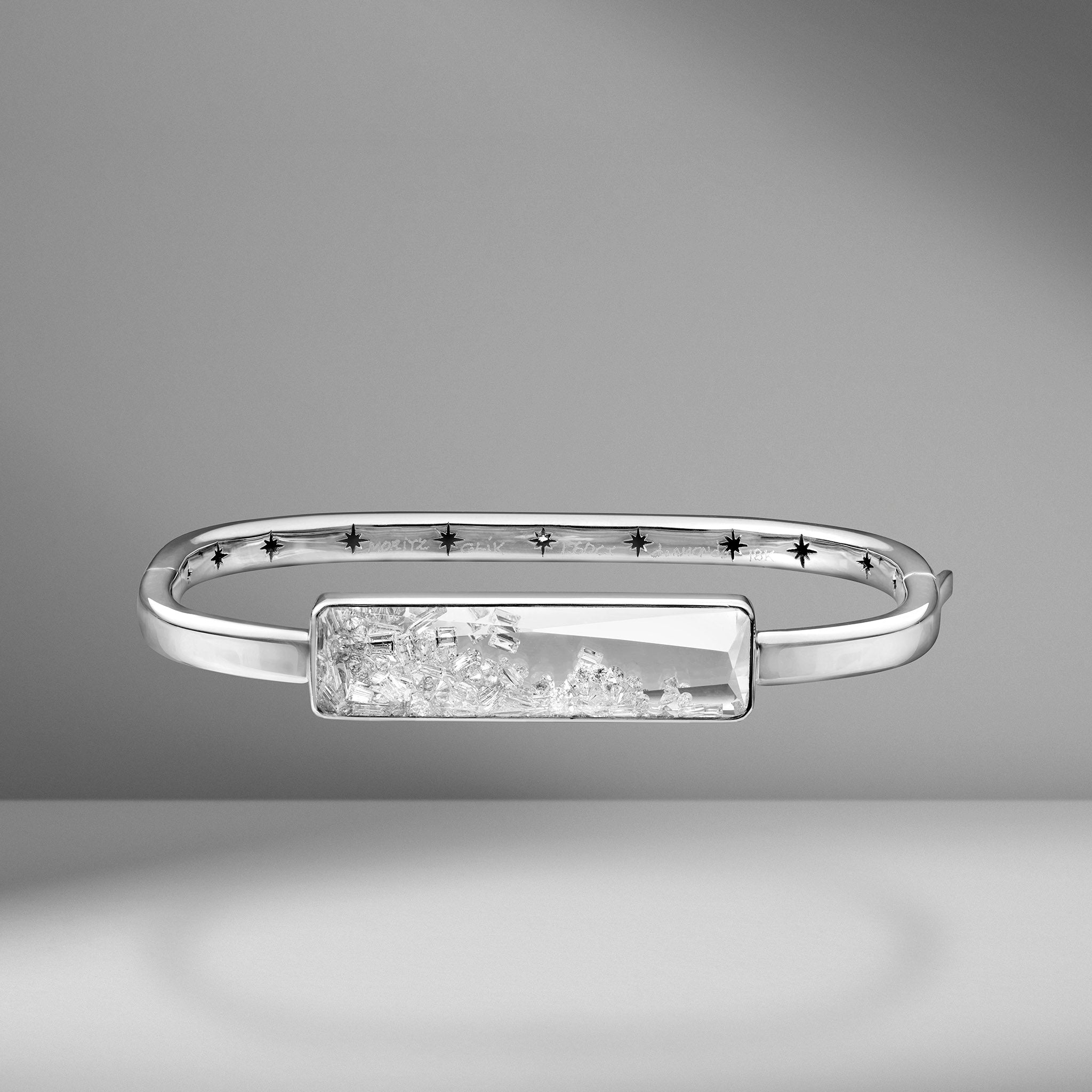 Diamond Shaker Bangle