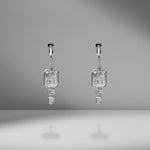Diamond Drop Shaker Earrings