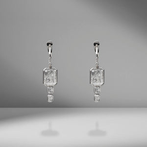 Diamond Drops Shaker Earrings
