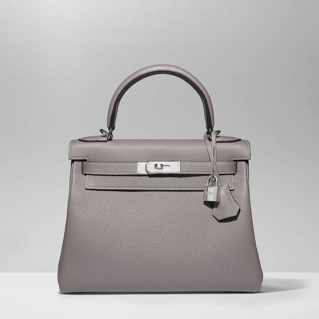 Kelly 32cm in Etaine by Hermès