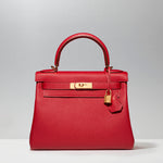 Kelly 28cm in Rouge Vif
