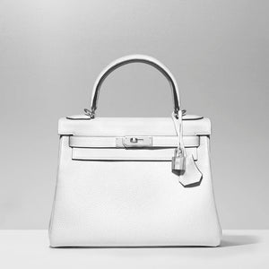 Kelly 28cm in White Clemencee