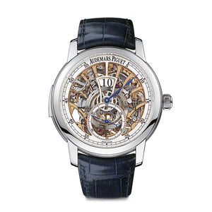Jules Audemars Openworked Minute Repeater with Jumping Hours and Small Seconds 26356PT.OO.D028CR.01 - Audemars Piguet