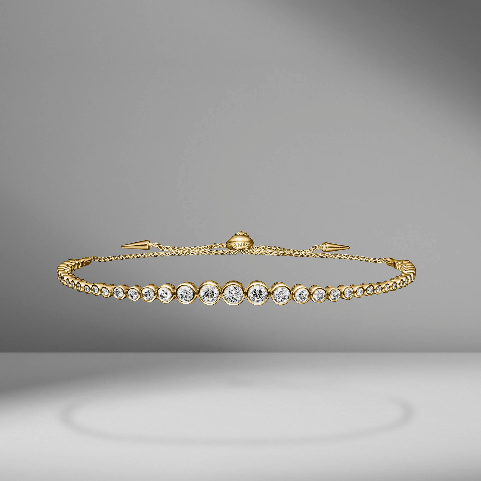 Diamond Slider Bracelet