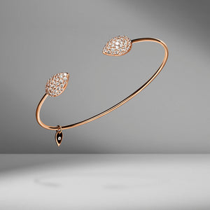 Prive Diamond Dome Open Bangle