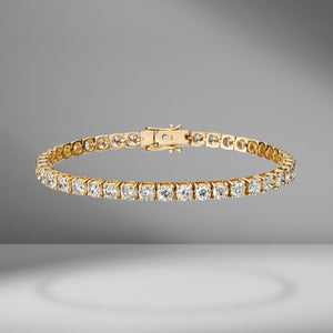 Diamond Tennis Bracelet - 8.00 Carats