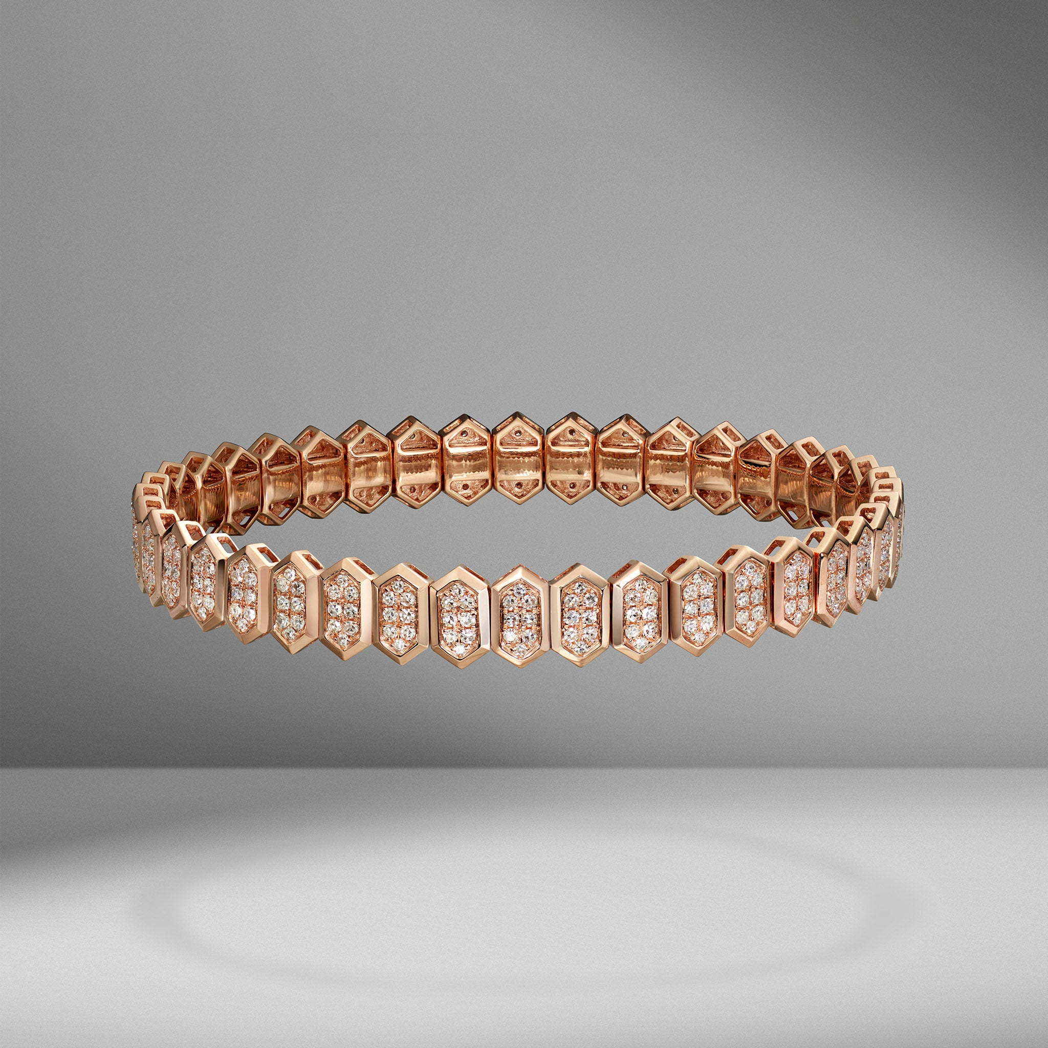Hexagon Stretch Bracelet