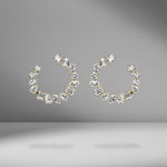 Medium Multi-Shape Open Hoop Earrings