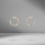 Mini Multi-Shape Open Hoop Earrings