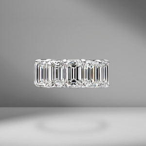 Emerald Cut Eternity Band 2.00