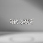 Pear Shape Eternity Band .20