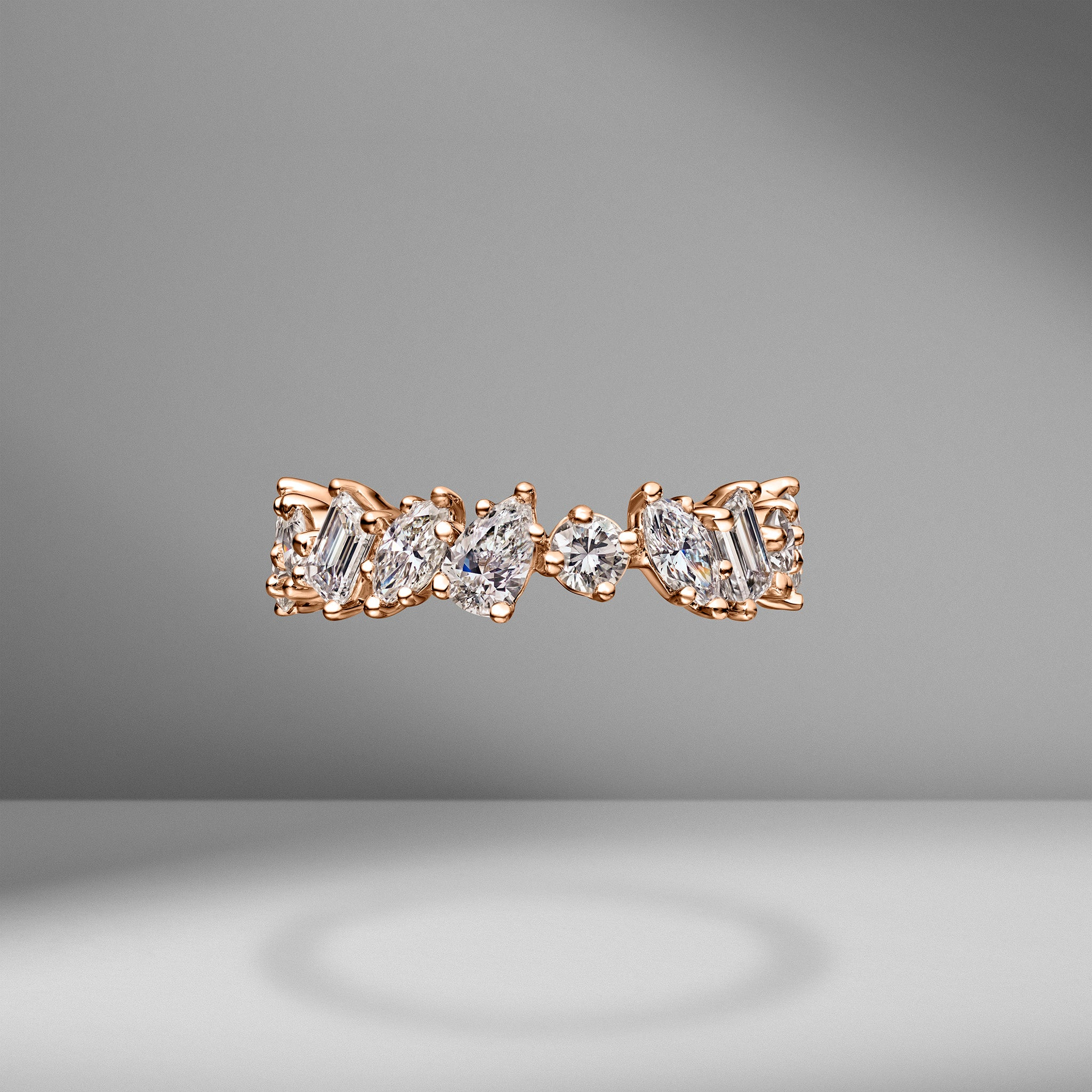 Medium Multi-Shape Eternity Band