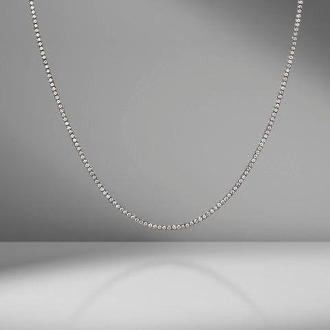 Diamond Tennis Necklace by Material Good