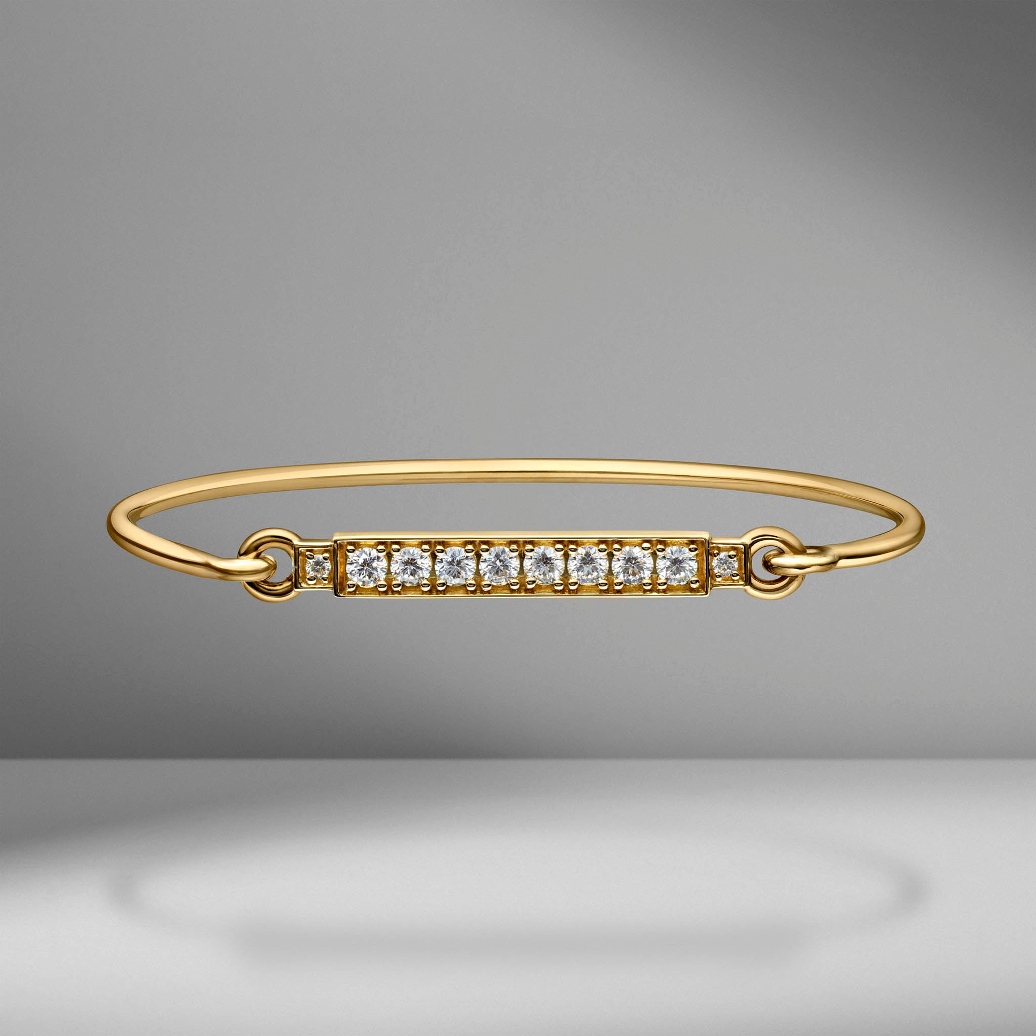Prive Diamond Bar Bangle