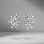 Starburst Diamond Earrings