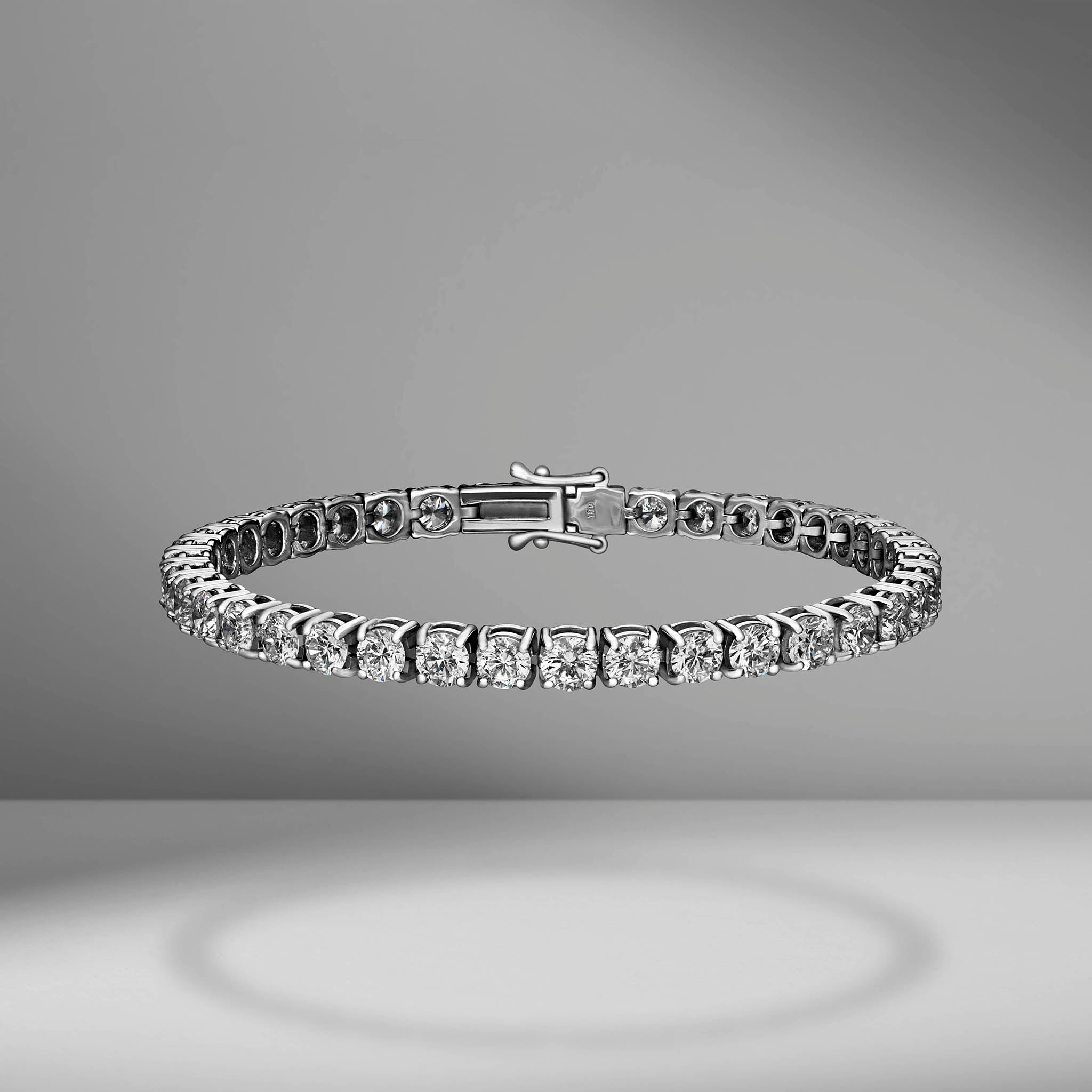 Diamond Tennis Bracelet - 10.00 Carats