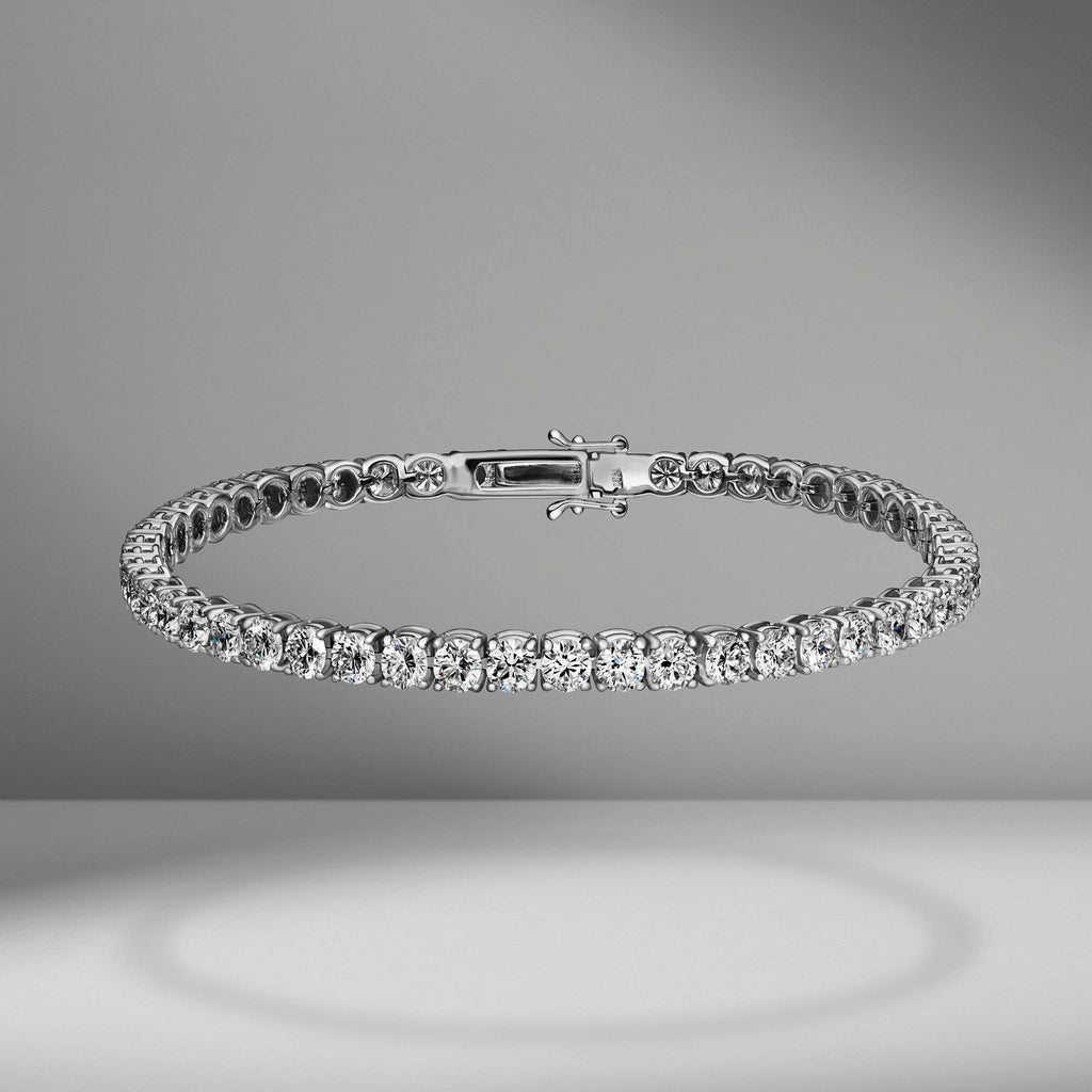 Diamond Tennis Bracelet - 7.00 Carats