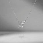 Diamond Knot Necklace