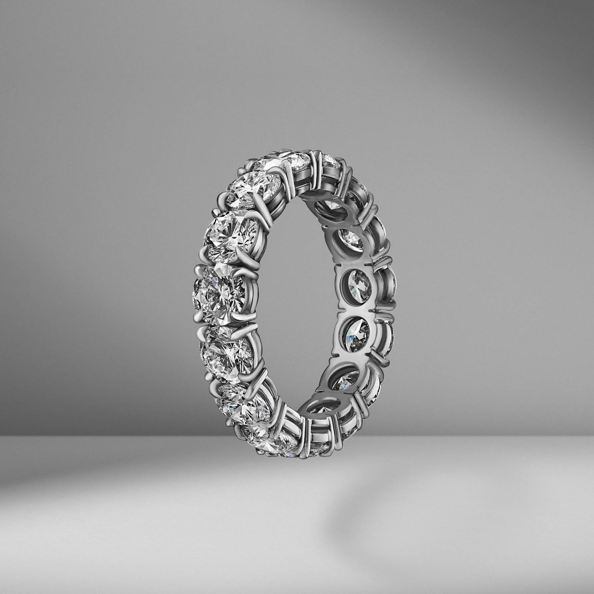 Round Brilliant Cut Eternity Band .35