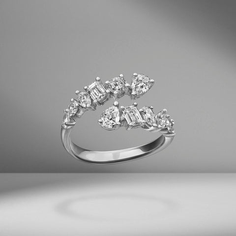 Multi-Shape Twist Ring