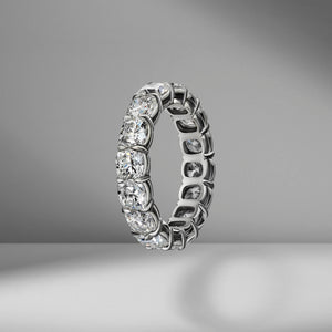 Cushion Cut Eternity Band .32