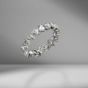 Multi-Shape Eternity Band