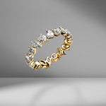 Small Multi-Shape Eternity Band