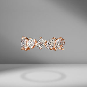 Large Multi-Shape Eternity Band