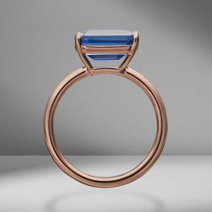 Sapphire East-West Ring